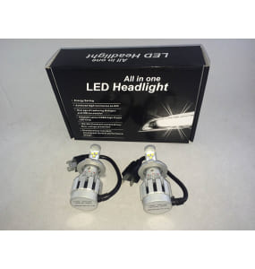 Kit Bombillas H4 Led para Camion 3000LM