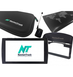 Pack Navion Plus 4G Truck + TV + Visera Antirreflejos + Funda